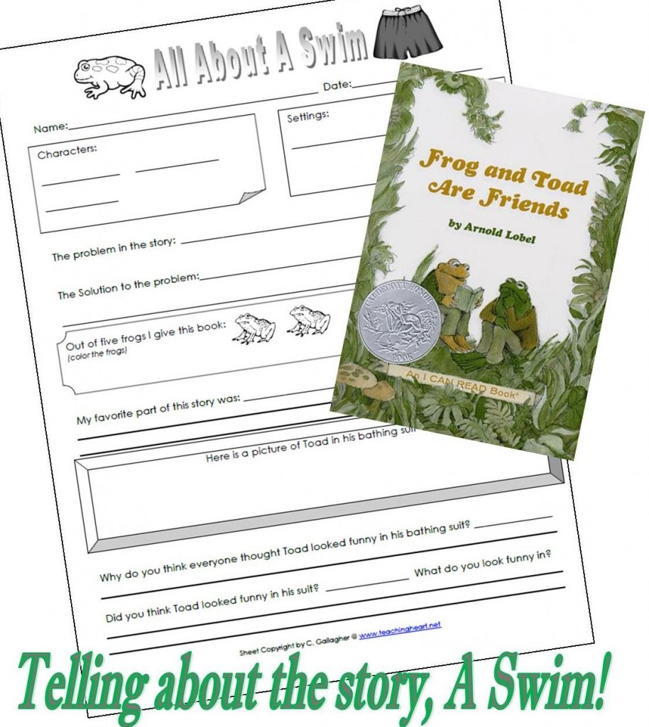 Free Worksheet Frog And Toad Together Worksheets frog and toad are friends worksheets worksheet a swim teaching heart blog teaching