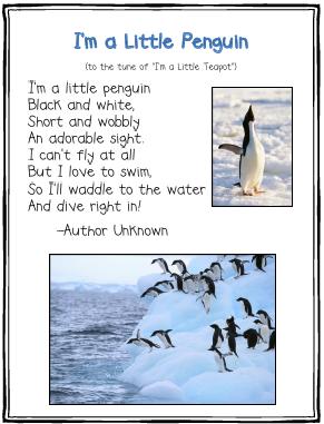 Penguins Theme/Unit - lessons, links, printables, ideas, & more for k ...