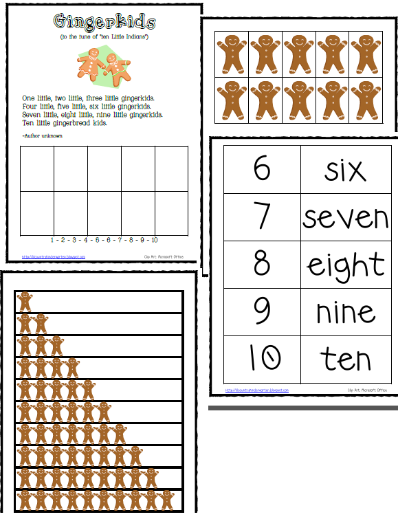 The Gingerbreadman Theme/Unit with Printables, Lessons, Ideas, and ...