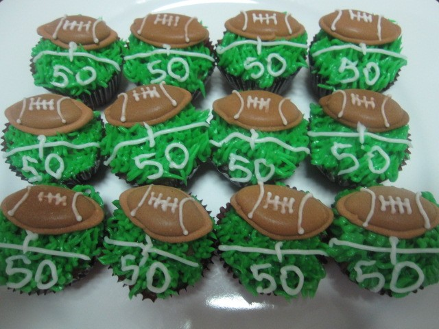 Best Perfect Football Cupcakes