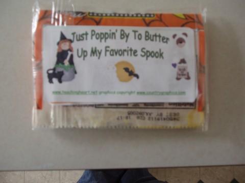 Teacher Halloween Treats for Students