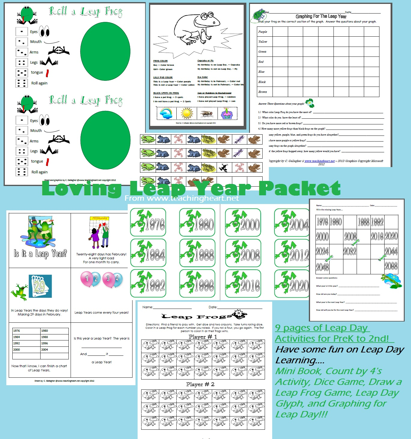 It's just a graphic of Epic Leap Year Printable