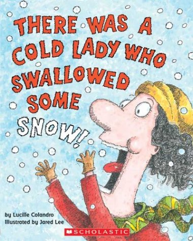 image about There Was an Old Lady Printable Template referred to as There Was A Chilly Girl Who Swallowed Some Snow! Classes