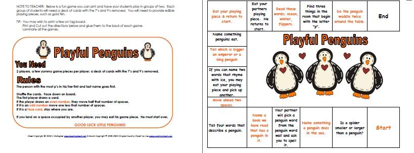 photograph regarding Penguin Pattern Printable identify Penguins Concept/Machine - classes, inbound links, printables, suggestions