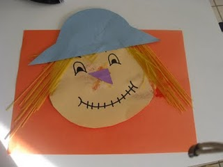 paper plate scarecrow. & Scarecrow Theme/Unit - great ideas and more.
