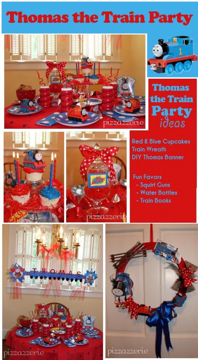 Thomas The Train Tank Party Ideas From A Mom