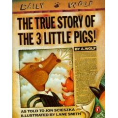 The True Story of the Three Little Pigs - Lessons for teachers