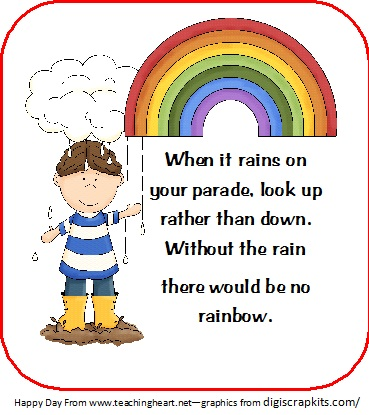 Rainbows on Weather Theme Preschool Activities And Crafts 2